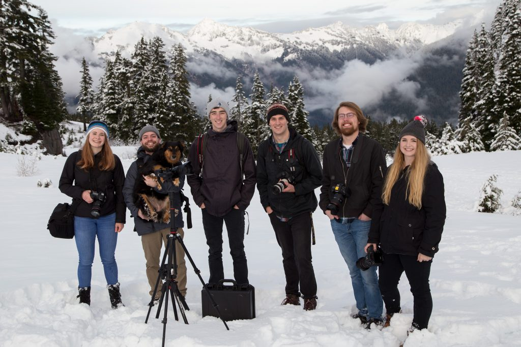 Photo of Fall 2018 Advanced Visual Journalism Class