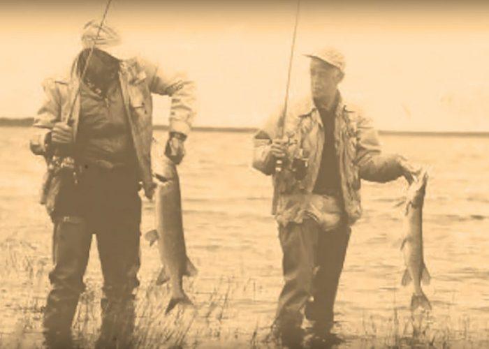 historic fishing photo